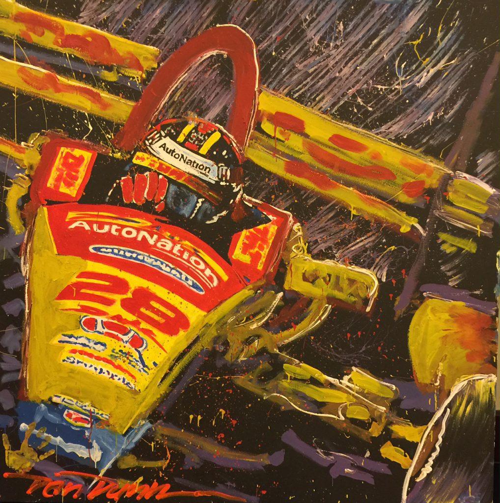Speed Painting in Boca